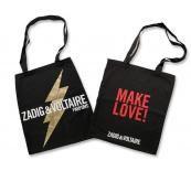 Стилна платнена чанта Zadig & Voltaire