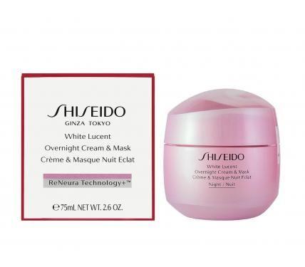 Shiseido White Lucent Overnight Cream & Mask Нощен хидратиращ крем и маска за жени