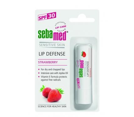 Sebamed Дерматологичен балсам за устни с ягода