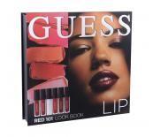 Guess Lip Look Book Kit 101 Red Козметичен комплект за жени