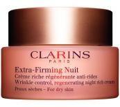 Clarins Extra-Firming Nuit For Dry Skin Нощен лифтинг крем против бръчки за суха кожа без опаковка